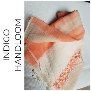 Indigo Handloom Wrap